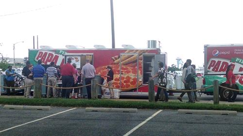 Mobile Kitchen Feeds Many