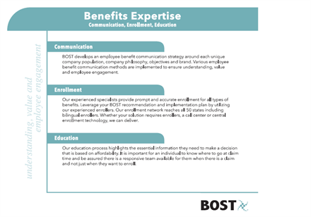 BOST Benefits Expertise