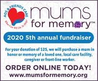 Mums for Memory(TM) Fundraiser