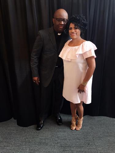 Bishop Ware and Pastor Tonya