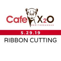 Chamber Ribbon Cutting - Cafe X2O Mediterranean