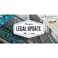 2020 Claremont Chamber & SDP Business Legal Update