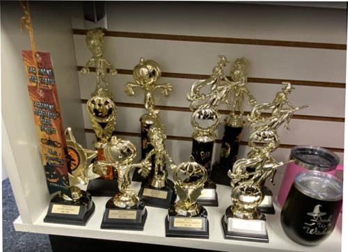 Custom Halloween Awards - Make your party or event Memorable - FREE ENGRAVING