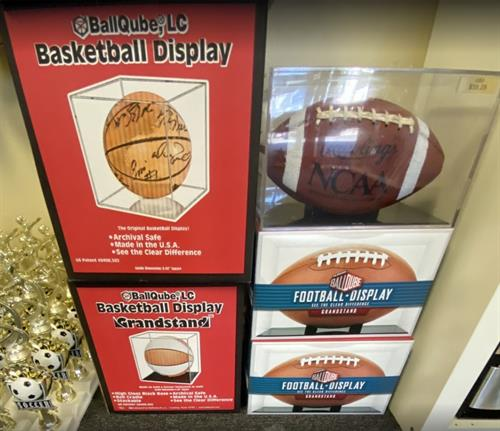 Acrylic Ball Cases for ALL Sports