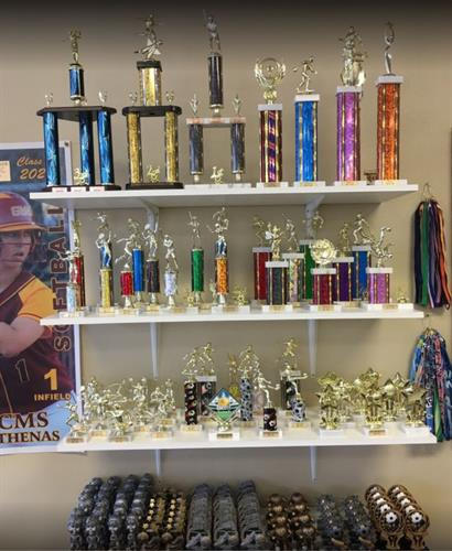Trophies for ALL Events!  FREE ENGRAVING