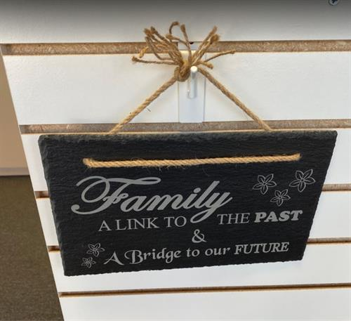 Custom Slate Sign - Personalize for Recipient - FREE ENGRAVING