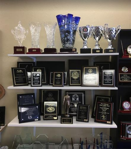 Plaques and so much more!  FREE ENGRAVING