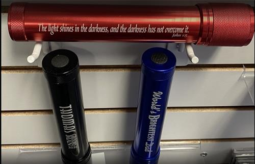 Customized LED Flashlights - Great Gift - FREE ENGRAVING