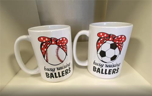 Custom Coffee Mugs - Show Your Spirit!