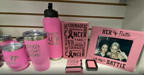 Your One Stop Shop for ALL Breast Cancer Awareness Recognition Items