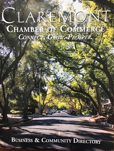 Claremont Chamber of Commerce Business Directories are Available at the Claremont Chamber.