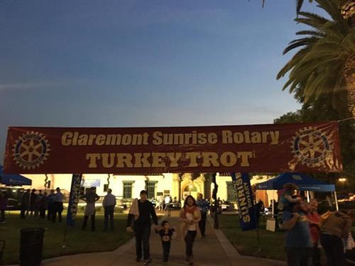 Turkey Trot banner