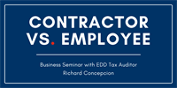 CA EDD Independent Contractor vs. Employee: Common Misconceptions
