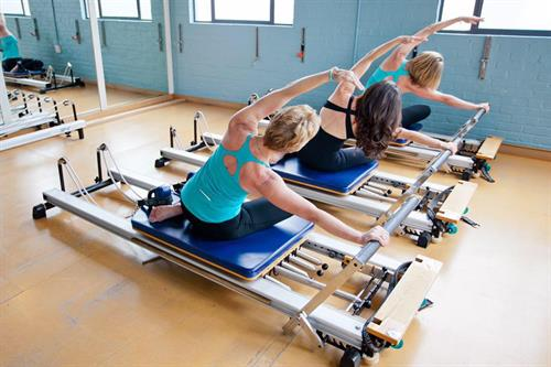 Reformer based pilates- private, semi-private and group classes available