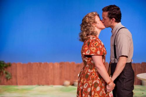 IVRT's production of ALL MY SONS at the Candlelight Pavilion, 2012.