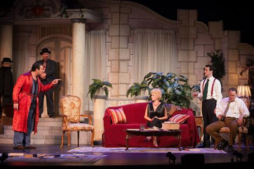 IVRT's production of BORN YESTERDAY at the Candlelight Pavilion, 2012.
