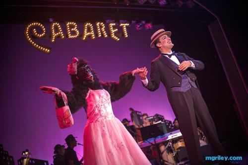IVRT's production of CABARET at the Candlelight Pavilion, 2013.