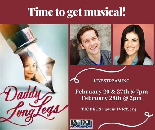 "Daddy Long Legs"" Livestreaming Musical February 2021"