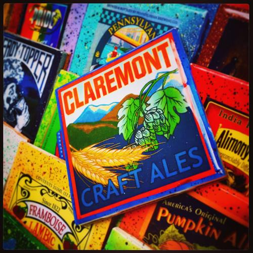 Custom Coaster for Claremont Craft Ales