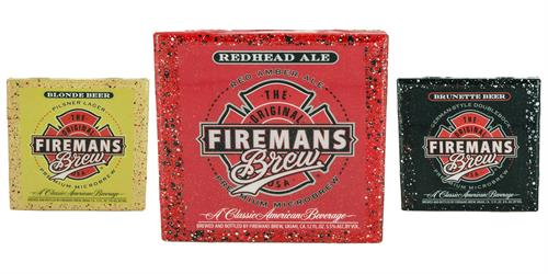 Custom Coasters made for Fireman's Brew
