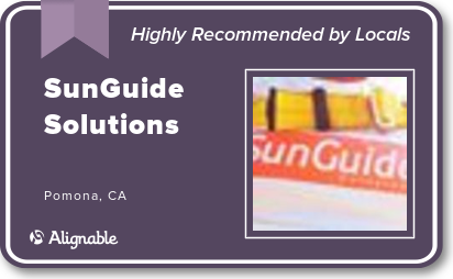 SunGuide Solutions highly recommended at Alignable