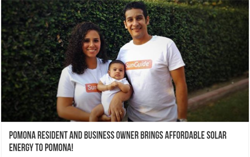 SunGuide Solutions featured at Pomona Proud
