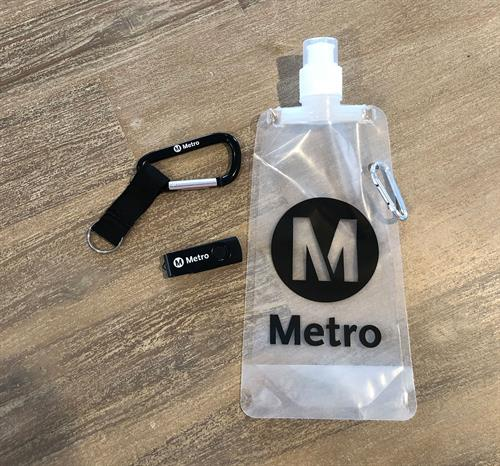 Community outreach promo item for LA Metro