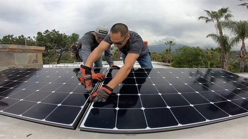 HPM Solar install 1