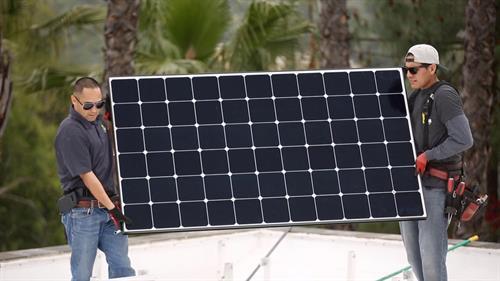 HPM Solar install 2