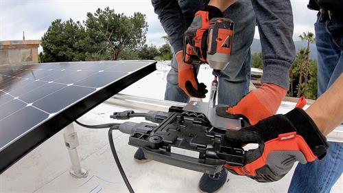 HPM Solar install 3