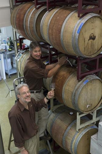 Barrel Room with founders Ken Hardcastle and Bob Manley