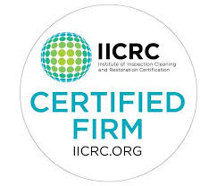 We are certified in water restoration