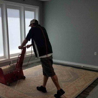 We use state of the art dusting equipment to maximize our rug cleaning quality