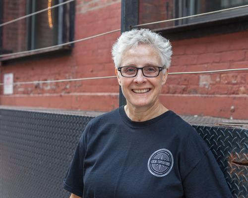 Nancy Blaine, boating on Squam since 1994.