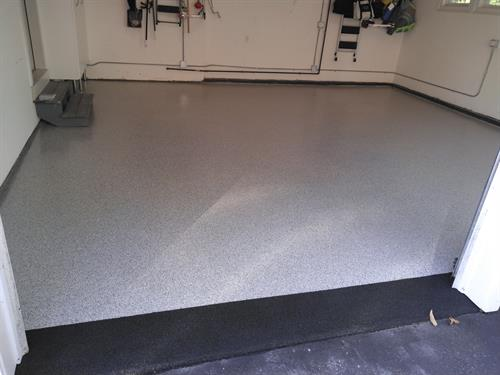 Residential Garage floor solution located at Meredith Bay