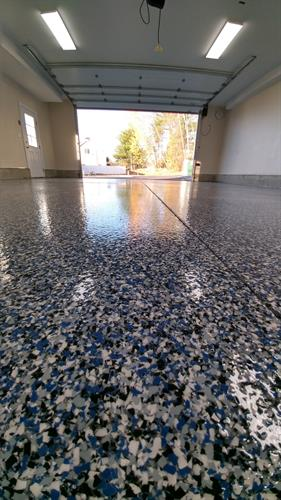 Epoxy flooring in Paugus Bay Laconia