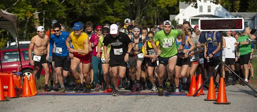 Squam Ridge Race Start 2018