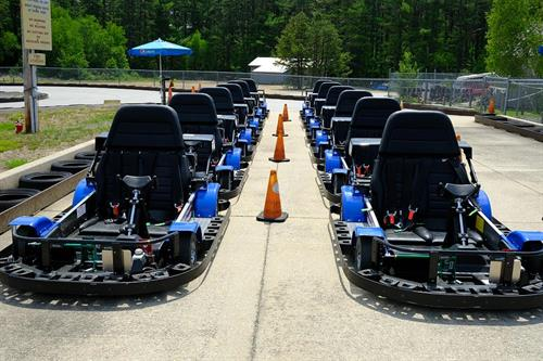 """NEW GO-KARTS: Drivers Wanted! (Min. 10 yrs. age & 56"""" tall get to drive!)"""