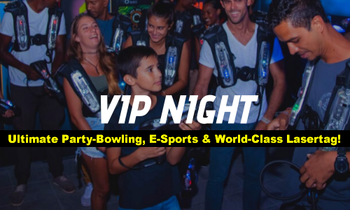 Indoor World-Class Laser Tag! Fun for ALL ages & ANY group size!