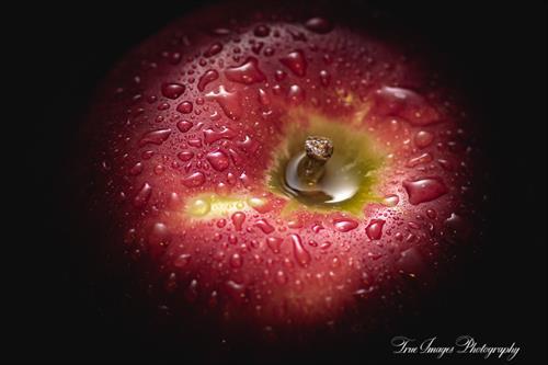 Apple in shadow