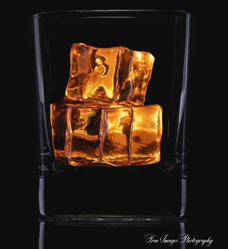 Ice in glass, just add liquor.