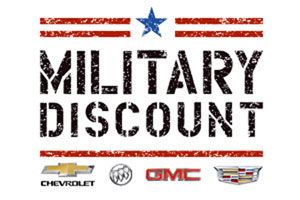 Ask us about the GM Military Discount Program