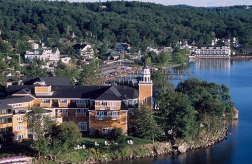 Meredith Bay with Church Landing in the forefront.