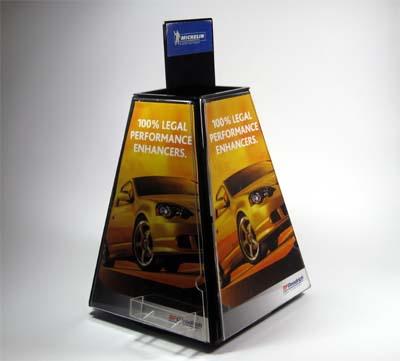 sample custom store marketing display