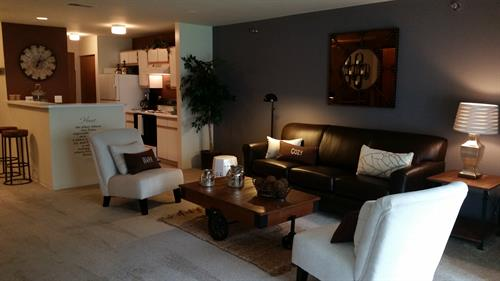 Ask us about our 3 bedroom/2 bath apt.