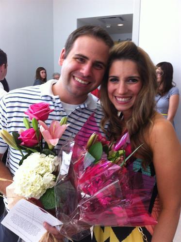 Justin & Amanda -nurse graduation