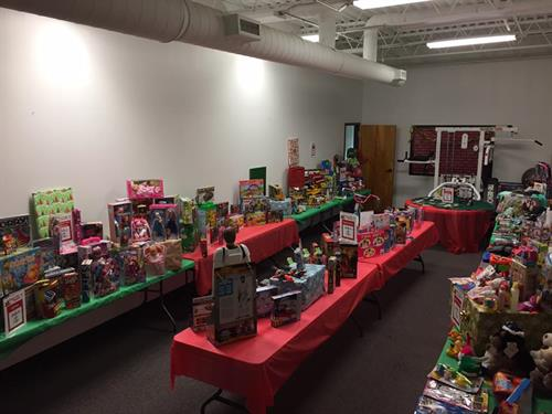 Our Empower a Family Christmas Store