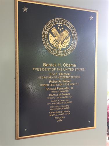 Dedicated in 2014, the VA HCC serves over 16,500 Veterans in Greenville