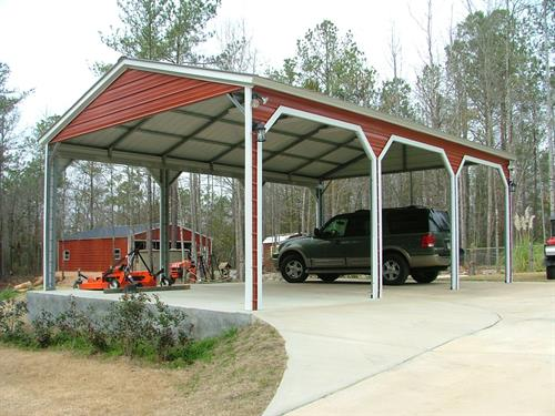 Garages, any size.   3-4 weeks to delivery 3-6 hours to build