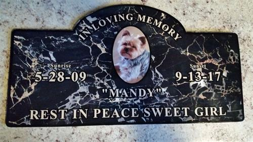 A Memorial to a lost Loved One